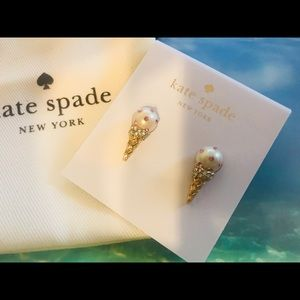 ♠️♠️♠️♠️ Kate Spade ice-cream cone earrings